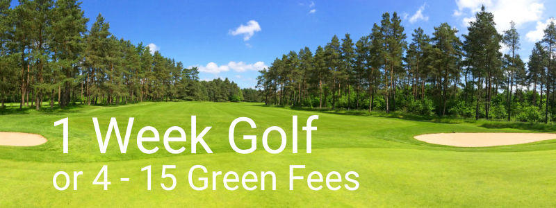 1 week Golf Packages