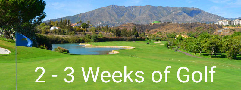2 - 3 week Golf Packages