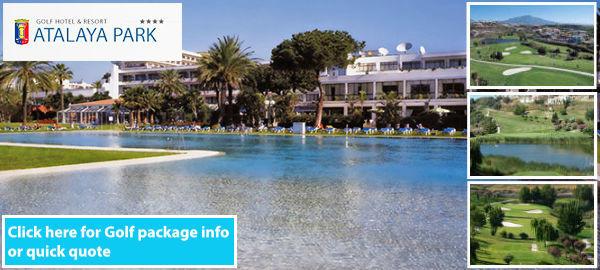 Hotel Atalaya Park golf resort