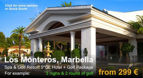 GolfatM, Los Monteros, Marbella Golf Package
