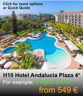 H10 Hotel Andalucia Plaza
