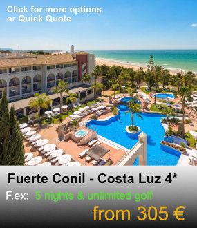 Fuerte Conil, Costa Luz 4* Golf Package