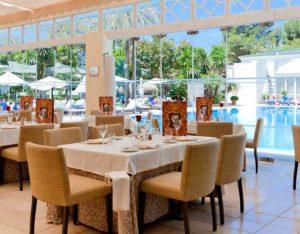 Los Monteros, restaurant
