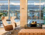 Hotel chill area