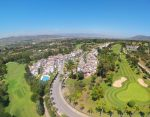 Areal view of Golf resort