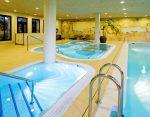Resort indoor spa pool