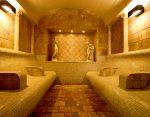 Resort spa sauna