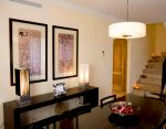 Resort apartment living room