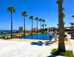 Hotel beach club