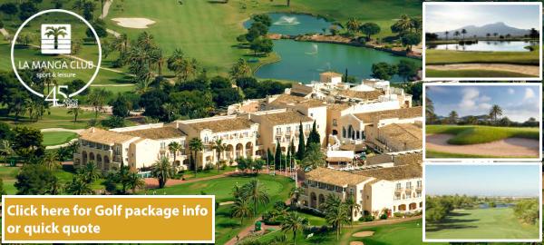 Resort apartment aerial view