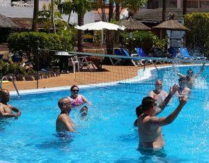 Apartments pool