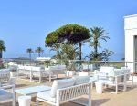 Hotel outdoor bar terraces