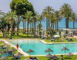 Hotel beach pool