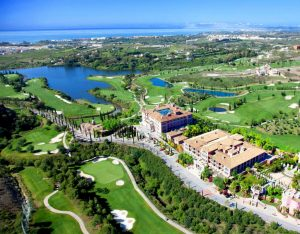 Hotel Golf aerial view