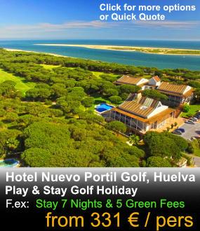 Hotel golf aerial