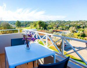 outdoor terrace view