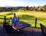 Golf course restaurant
