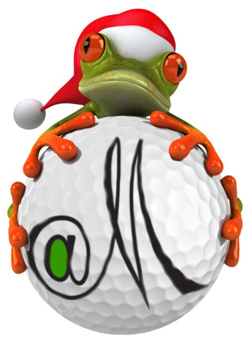GolfatM Green frog