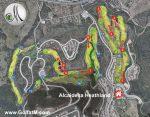 Alcaidesa Heathland Golf Map