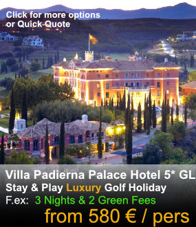 Villa Padierna Palace Hotel Golf Packages