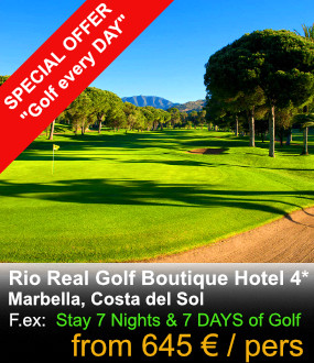 Rio Real Golf Offer
