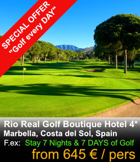 Rio Real Golf Hotel Package