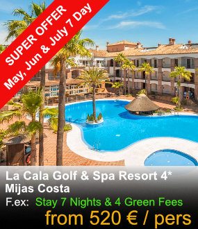 La Cala Golf & Spa Resort offer
