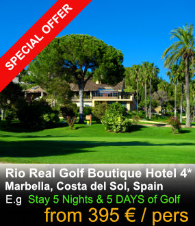 Rio Real Golf Special Offer