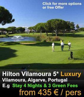 Hilton Vilamoura Golf
