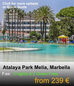 GolfatM, Atalaya Park Melia, Marbella & Golf Packages