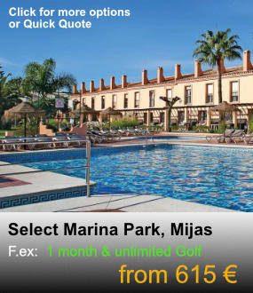 Select Marina Park, Mijas Long stay