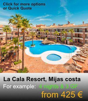 La Cala Resort, Mijas Golf, Golf Packages