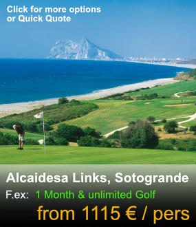 single product small Alcaidesa Links Golf Resort