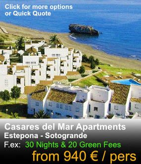 Casares del Mar apartments