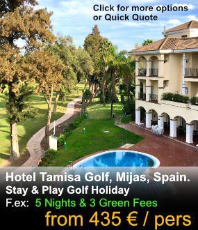 Hotel Tamisa Golf Package