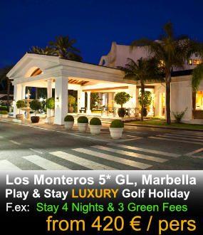 Los Monteros Marbella Luxury golf hotel